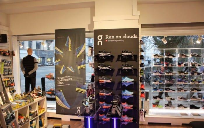 Marathon Sport Specialbutik for løbere har nu også On i sit sortiment
