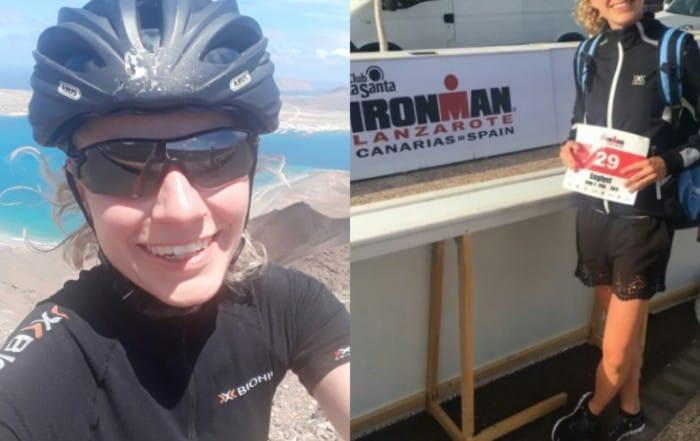 Pia Englyst Lanzarote Ironman lørdag den 20. maj.