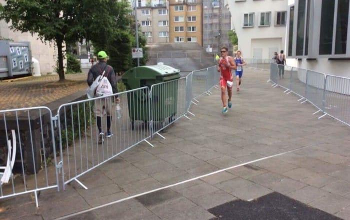 Kasper Rhinstrøm Schmidt - EM i sprint (tri). Flot 3. plads