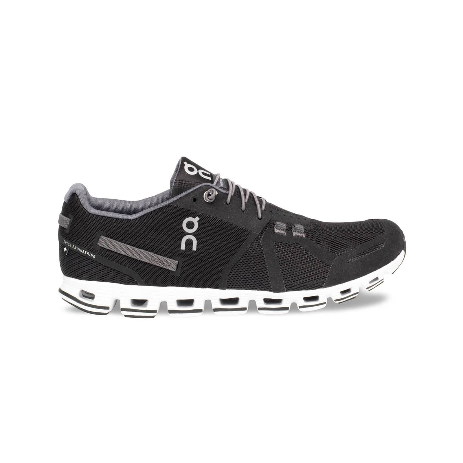 On Cloud Classic Black/White running shoe for active life, road, training,